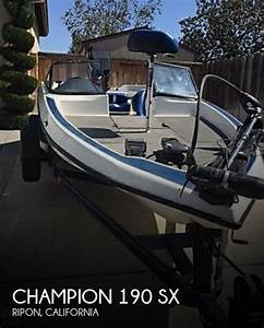 Champion 190 Sx For Sale In Ripon  Ca For  12 000