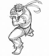 Ryu Fighter Street Coloring Msp Samuraiblack Deviantart Sketch Template Coloriages Ws Credit Larger Favourites sketch template