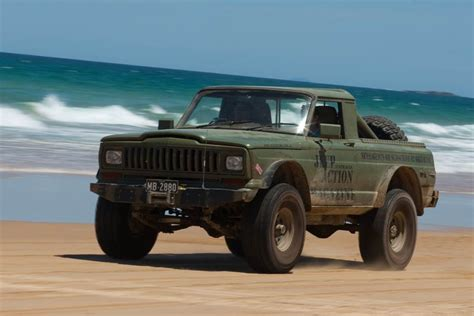 jeep chief truck cherokee chief cut down truck conversion