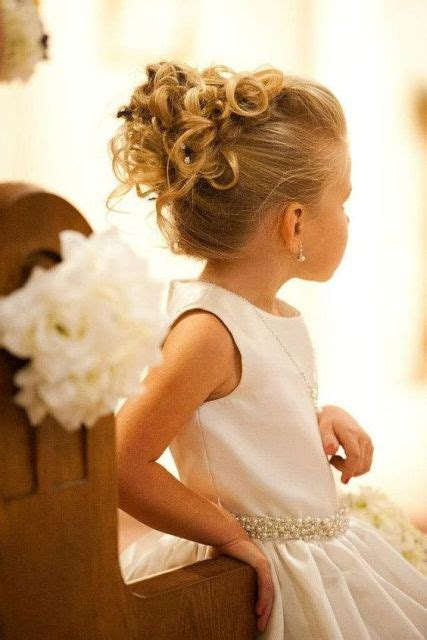 adorable flower girl hairstyles   inspired