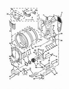 Bulkhead Parts Diagram  U0026 Parts List For Model Med6000xw1