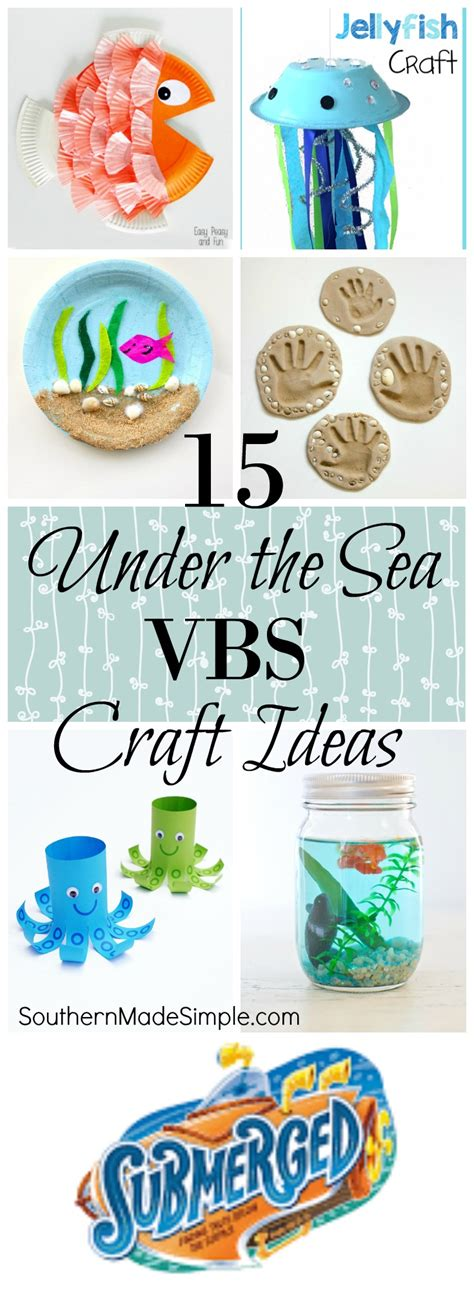 """Vbs Craft Ideas  Submerged """"under The Sea"""" Theme"""