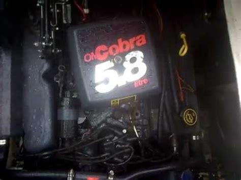 omc cobra   ford engine  manifold drain plug