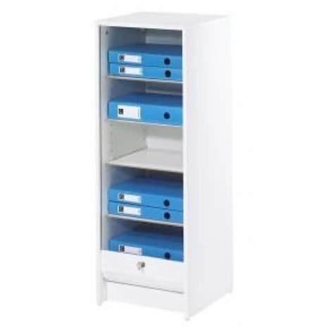 meuble rideau bureau classeur à rideau 37 8 cm blanc achat vente meuble