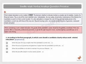 Saville Verbal Analysis