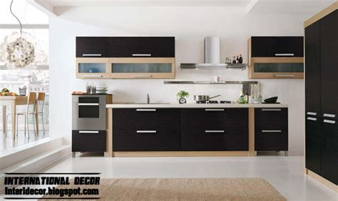 modern interior design ideas for kitchen modern black kitchen designs ideas furniture cabinets