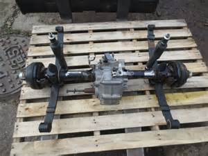 Ezgo Txt Mpt 1200 Rear End Differential Axle Brakes Hubs