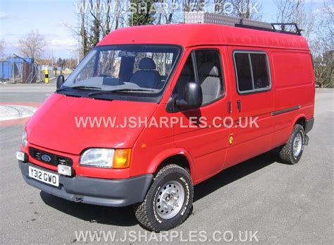ford transit  van county direct fire service  sale