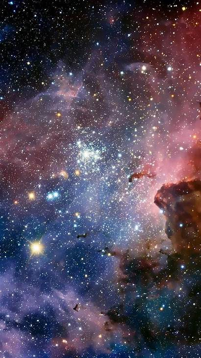 Phone Stars Wallpapers Iphone Bright Galaxies Galaxy