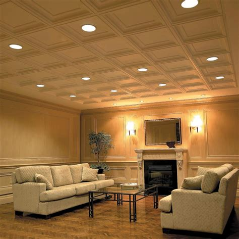Coffered Ceiling Panels by Usg Elegance Coffered Ceiling Panels Make Achieving