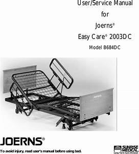 Sunrise Medical Joerns B684dc Users Manual 6110014c