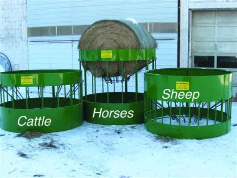 Rodeo Standings by The Hay Manager Local Innovation Makes Bale Feeders More
