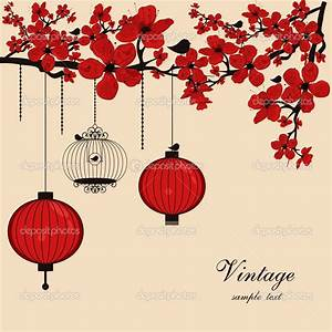 14 Chinese Flower Vector Images - Chinese Flowers Vector ...