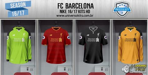 LIVERPOOL FC NEW BALANCE 16/17 KITS HD - FIFA 16