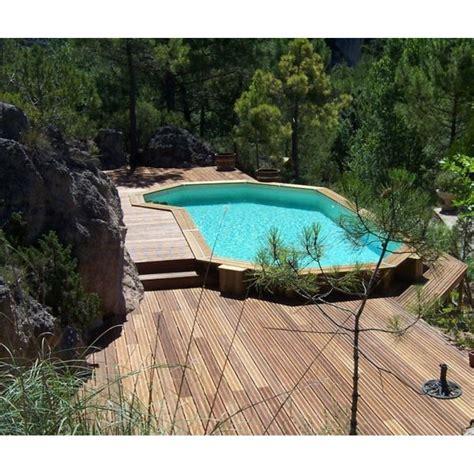 prix piscine bois enterree la piscine en bois semi enterr 233 e