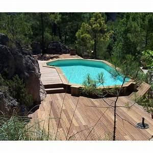 Piscine Bois Semi Enterrée : la piscine en bois semi enterr e ~ Melissatoandfro.com Idées de Décoration