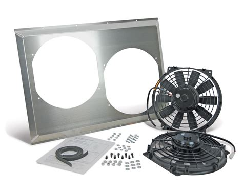 dual electric fans with shroud flex a lite automotive flex a lite dual electric fans with