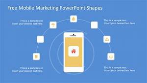 Free Mobile Marketing Powerpoint Shapes