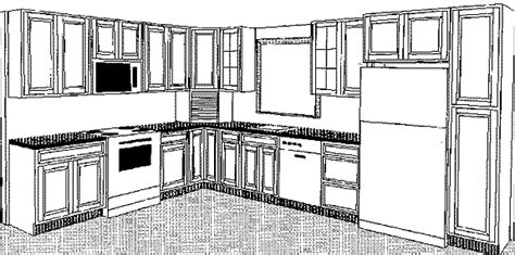 kitchen cabinets drawings small kitchen cabinets 3d drawing home design and decor 2979