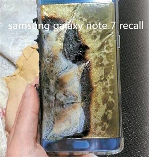 samsung galaxy note  recallgalaxy note  explosion
