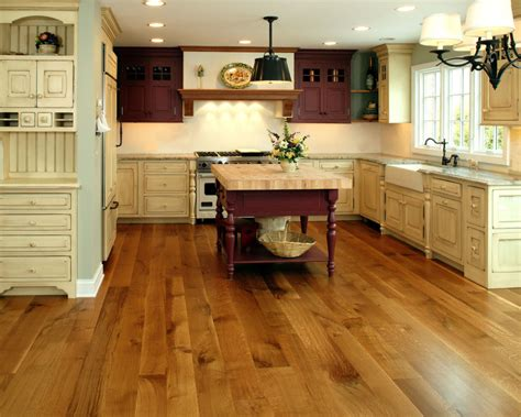wood kitchen floors kitchen flooring options with wood appearance traba homes 6466