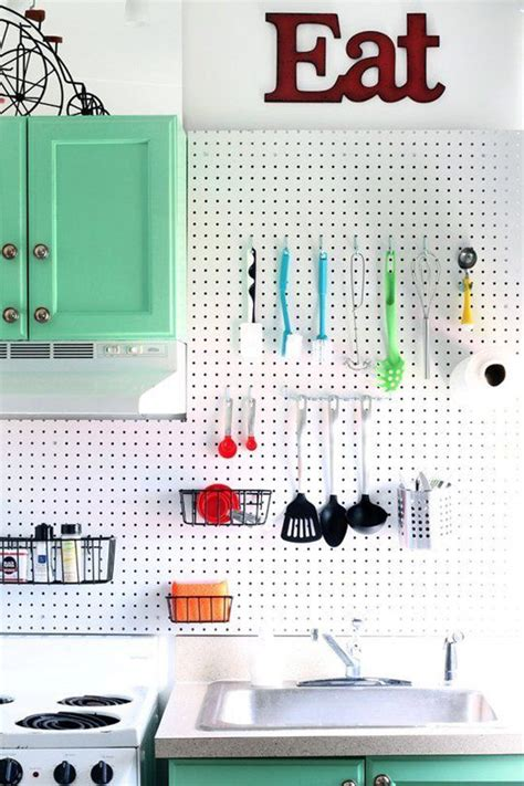 kitchen pegboard ideas 20 functional pegboard concepts to organize your room