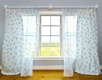 beach house window treatments nautical decor