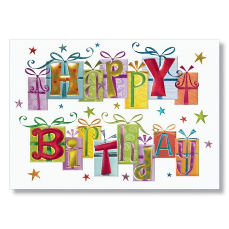 You can also upload personal photos, illustrations or images into design wizard for free and use them to personalize your greeting birthday card. Festive Fonts Business Birthday Cards   Company Birthday Cards