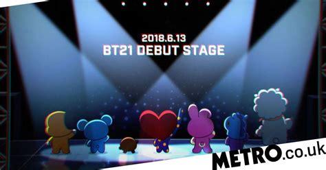 bt  making  official debut  bts   shook