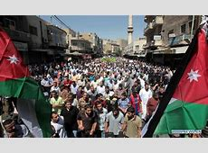 People rally to demand political reforms in Amman, Jordan