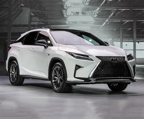 new lexus 2017 2017 lexus rx350 means extravagant styling with premium