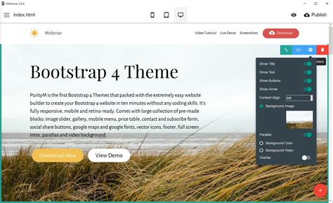 Bootstrap 4 Themes One Of The Bootstrap 4 Themes