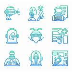 Futuristic Technology Icons Psd Eps Svg Icon