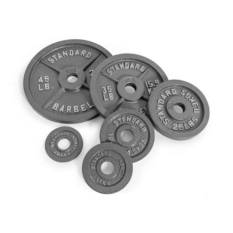 cap barbell olympic   weight plate gray