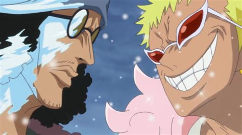 piece episode  review aokiji  doflamingo