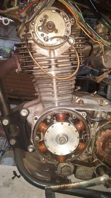 Dirt Bike Wiring Diagram 1974 by 1973 Honda Sl125 Engine On 1974 Xl125 Frame Electrical