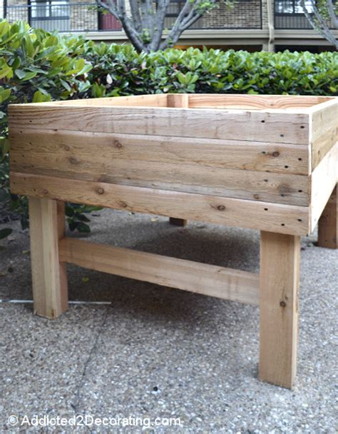 raised garden table how to build an elevated garden