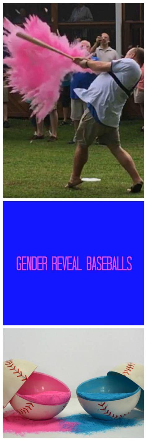 gender reveal ideas  pinterest baby reveal