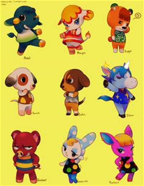 animal crossing  leaf charecters video games