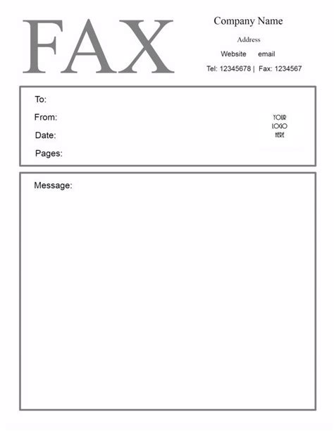 Free Fax Cover Letter Templates by Fax Cover Letter Template Sle Fax Cover Sheet Template