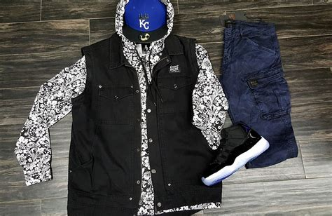 What To Wear With The Jordan Space Jam 11   Jordan Space Jam Outfits   8u00269 Clothing Co.