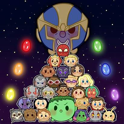 Avengers War Infinity Artwork Wallpapers Tsum Mini