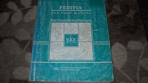 1991 Ford Festiva Service Repair Shop Manual Oem 91