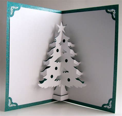christma cards 3d christmas tree cards more ideas make