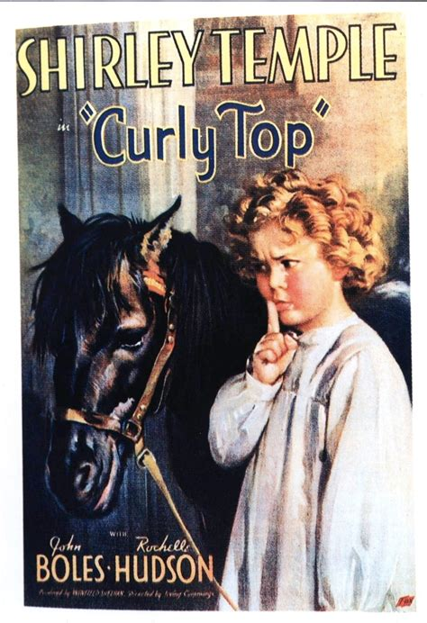 curly top  poster  shirley temple