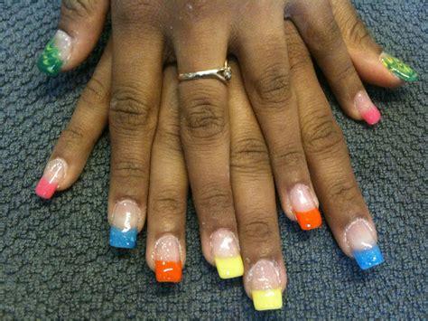 faux ongles couleur pose de faux ongles en gel uv