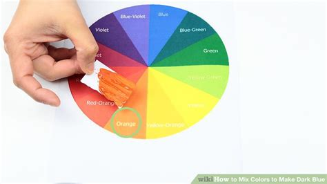 what colors make blue paint 3 ways to mix colors to make blue wikihow