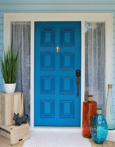 Colourful Door by 30 Best Front Door Color Ideas And Designs For 2019