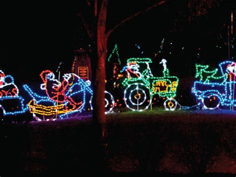 holiday lights at lake compounce southington ct patch
