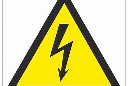 Hazard Symbol Electrical Warning Signs General Range